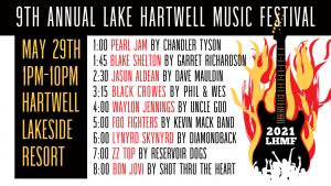lake hartwell music festival